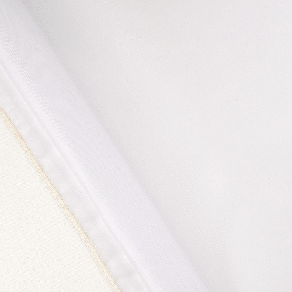 "Empire Voile 130"" 100B1323 White"